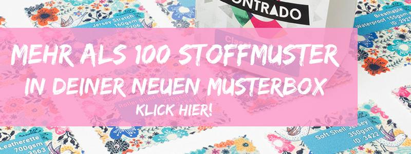 musterbox mit über 100 mustern
