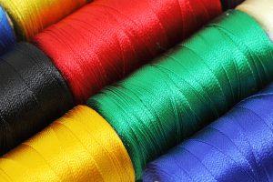 Nylon Fäden Verschiedene Farben