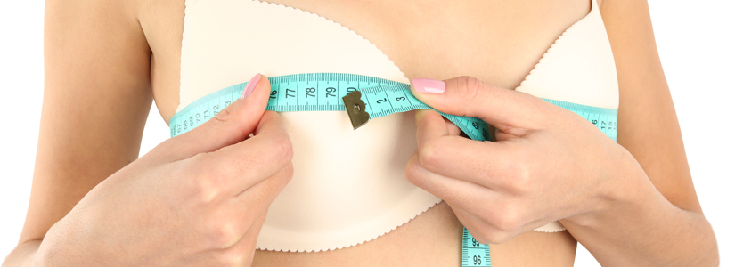 körpermaße messen brust