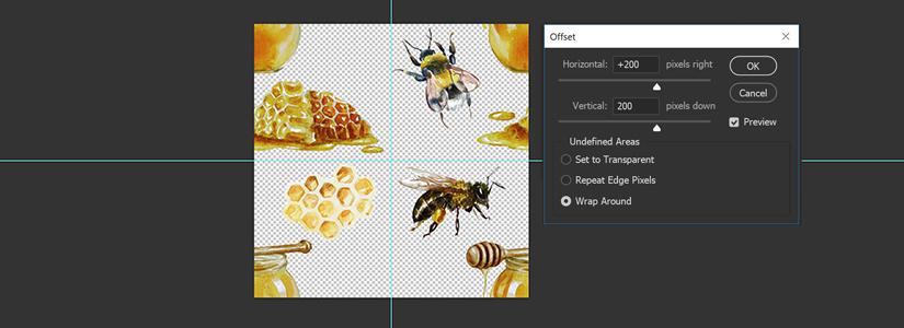 Photoshop Muster erstellen Rapport