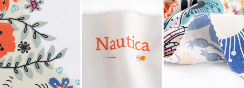 Stoffe für Badekleidung Nautica