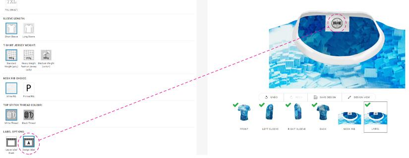 Premium Shirt Eigenmarke