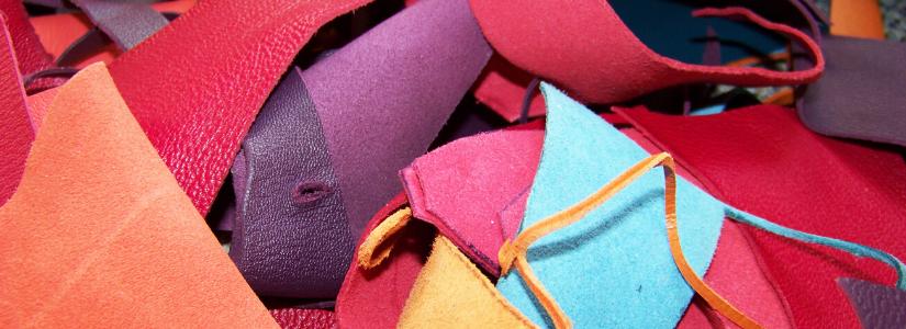 Was ist Lederfaserstoff Herstellung Lederreste