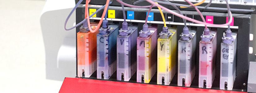 Druckerfarben Stoffdruck