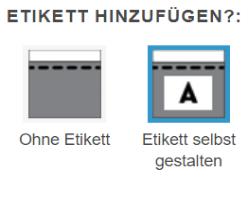 Logo auf Etikett drucken lassen